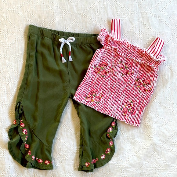 Summer set - pants and tank. Size 4t.